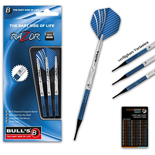 bulls-razor-r3-soft-dart-18g-hochwertiges-set-mit-3-dartpfeilen-90-tungsten-qualitt-schlanke-barrelf