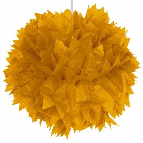 Pompom 30cm Gold Colour