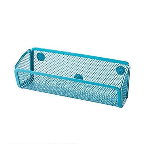 gloryhonor Kühlschrank Magnet Ablage adsorbing Halter Aufbewahrung Rack Küche Gadget Organizer 20cm x 8cm x 7.5cm blau Gadget-rack