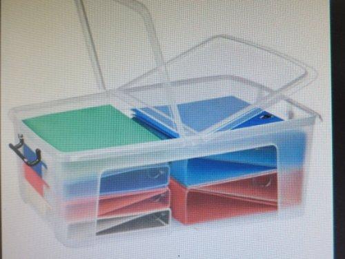 cep Kunststoffboxen 69,5 x 45,0 x 24,1 cm (BxTxH) transparent 50 Liter Aufbewahrungsbox