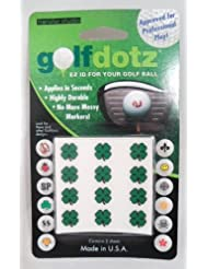 Trébol Golfdotz Tatuar a marcar su pelota de Golf único notebookbits