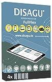 4x Disagu FullFlex Displayschutzfolie Displayfolie für Archos 50b Platinum (Blasenfreie Montage, für Geräte mit gebogenem Display)