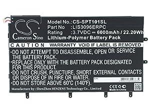 'Cameron Sino 6000mAh/22.20WH Akku kompatibel with Model Sony Xperia Tablet Z 10.103E Xperia Tablet Z SGP321, P/N Sony LIS3096ERPC