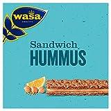 Wasa Knäckebrot Sandwich Hummus, 24er Pack (24 x 32 g)