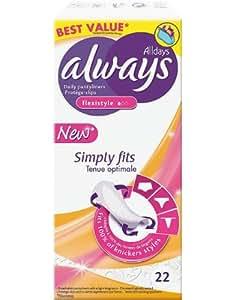 Always Protège-Slips Simply Fits Flexistyle x 22 - Lot de 2