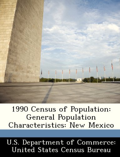 1990 Census of Population: General Population Characteristics: New Mexico
