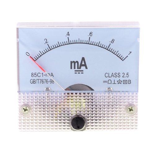 Sourcingmap a13051400ux0457 - Clase 2.5 dc de precisión corriente analógica medidor de panel amperímetro