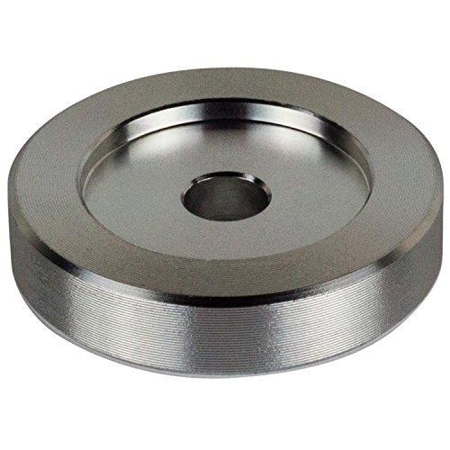 45U/Min Adapter-Aluminium-17,8cm Vinyl Record Dome 45Adapter - Vinyl-storage