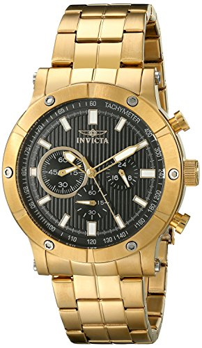 Invicta Men's 18163 Specialty Analog Display Japanese Quartz Gold Watch image