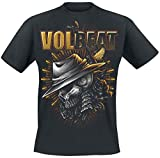 Volbeat Heaven & Hell Camiseta Negro XXL