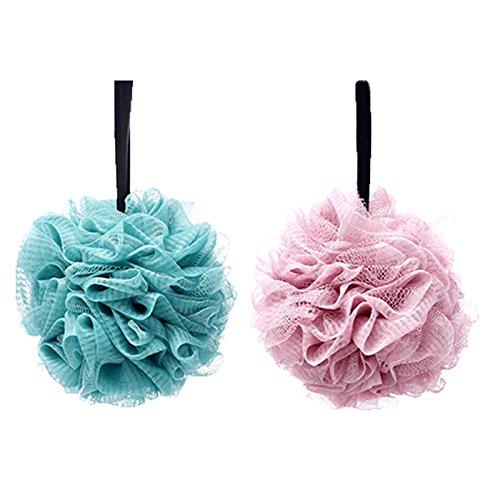 Lote 2 esponjas baño suaves extradensas flor lis