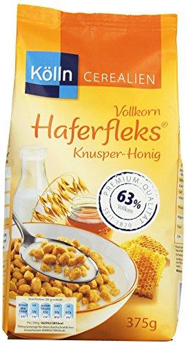 Kölln Vollkorn Haferfleks Knusper-H, 6er Pack (6 x 375 g)