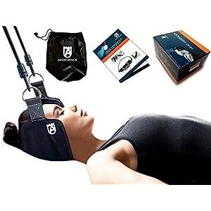 Akordience Kopf Nacken Hängematte Zu Neck Relief – Tragbar Zervikale Traktion Gerät – Nacken Massagegerät – Neck Head Hammock Ist Eine Perfekte Lösung Gegen Nackenschmerzen
