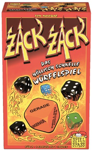 Spielspass Verlag 10122 - Zack Zack