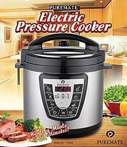 PureMate® PM 660 Electric Pressure Cooker 1000 W - 6 Litre