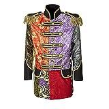 Widmann 59263 - Herren Mantel Jaquard Patchwork Parade kostüm, L