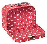 Bieco 04003027 - Koffer Dots, ca. 15 x 20 cm