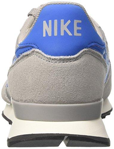 Zapatillas De Gimnasia Nike Internationalist, Mens Grey (plata Mate / Azul Chispa / Vela / Negro)