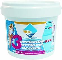 Triple acción Cloro Multifunción tabletas 200 gr. (envase de 5 kg.)