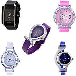 Horse Head Analog 5 Combo Multi-color Dial Womens Watch (Com 5HH)