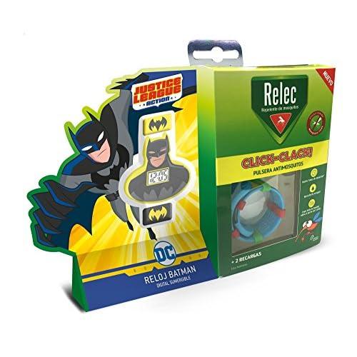 Relec Pulsera Repelente Antimosquitos Superhéroes Batman - 1 Unidad 3