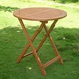 Klapptisch, runder Tisch, Gartentisch, Durchmesser 70 cm