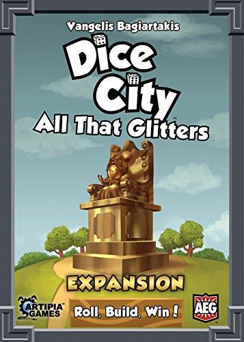 Alderac Entertainment ALD05848 - Kartenspiel 'Dice City: All that Glitters'