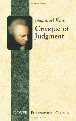 Critique of Judgement: 17 (Dover Philosophical Classics)