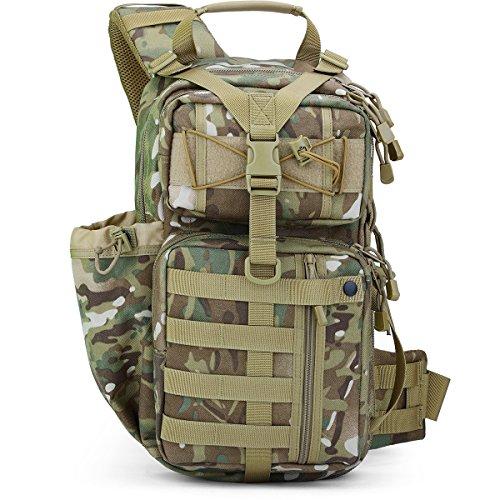 Free Soldier, zaino tattico militare, da spalla, per escursioni e campeggio CP Camouflaqe