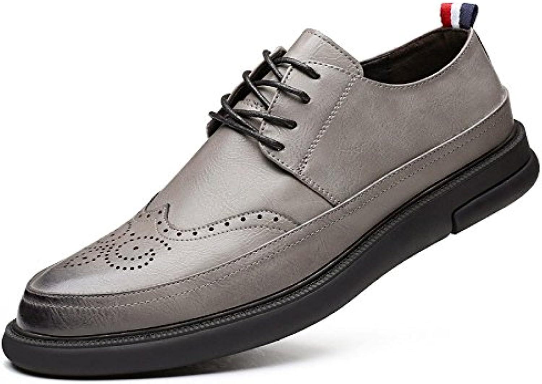 Primavera Zapatos De Hombre Retro Moda Zapatos De Hombres Tallados -