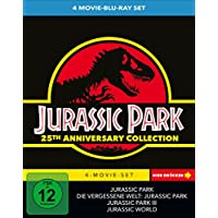 Jurassic Park 1-3 + Jurassic World - 4 Movie limited Collector's Edition