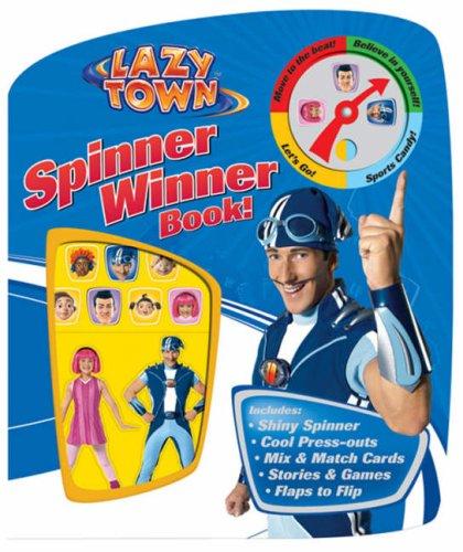 LazyTown: Spinner Winner Book!