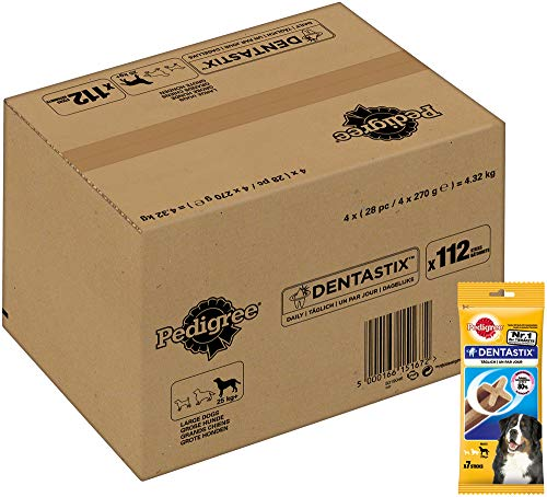 Pedigree Hundesnacks Hundeleckerli, Dentastix Daily Oral Care Zahnpflege (1 x 4320 g)