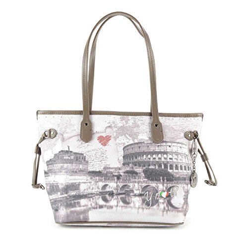 Borsa Shopping media Y Not - G336 Love Letter