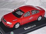 Skoda Superb Super B Rot Red Uni Neu Ovp 1/24 Abrex