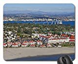 Hotel del Coronado Aerial View Mouse Pad, Mousepad (Modern Mouse Pad)