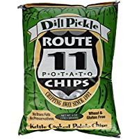 Route 11 Dill Pickle chips todo natural 6 (paquete 3)