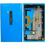 "original Nokia Akkudeckel für Nokia Lumia 900 ""Full-Set"" - cyan / blau (Akkufachdeckel, Batterieabdeckung, Rückseite, Back-Cover) - 9447741"