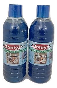 Soniya Washing Liquid Detergent 1 ltr(Pack of 2)