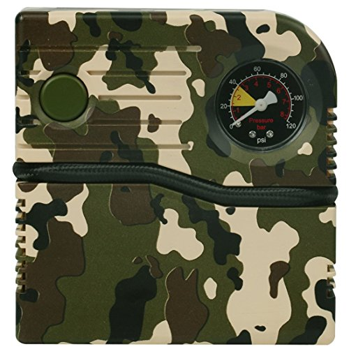 SUPERPOW Tragbarer Luftkompressor 120PSI mit LCD-Bildschirm Reifen-Luftpumpe DC 12V Automatische Pumpe mit 4 Minuten für Fahrrad/Auto / Steamship/Sport Balls mit GARANTIE