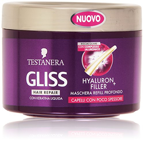 Schwarzkopf Gliss Hyaluron Filler Hair Hair Mask with Keratin 200ml/6.8oz