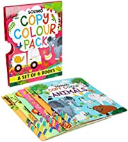 Amazon Brand - Solimo Copy Colour Pack, Set of 6 Books