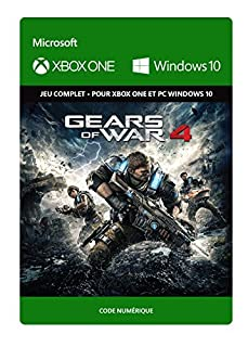Gears of War 4: Standard Edition [Xbox One/Windows 10 PC - Code jeu à télécharger] (B01H0Y4ZLI) | Amazon price tracker / tracking, Amazon price history charts, Amazon price watches, Amazon price drop alerts