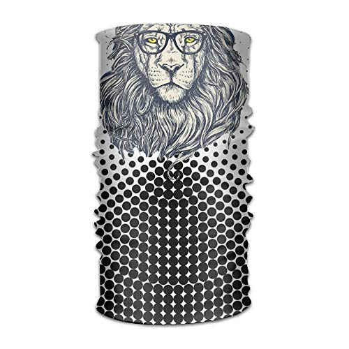 Vidmkeo Bandeau The Lion Scholars Magic Scarf,Face Mask,Fishing Mask,Thin Ski Mask,Neck Warmer Balaclava Bandana for Raves,Dust,Riding Bike,Motorcycle,Outdoor Activities Outdoor1