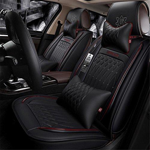 SHISHANG Auto-Polster PU Lederbezug Luxus Edition Stuhlbezug Vier Jahreszeiten Universal 360 ° Surround für alle 5-Sitzer Modelle, d