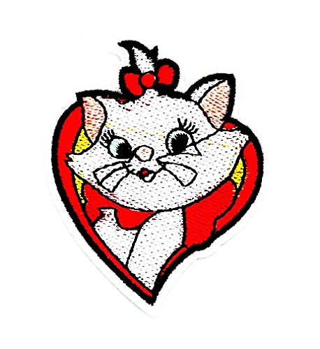 (rabana Herz Bowling Happy Cartoon Kids Kinder Cute Animal Patch für Heimwerker-Applikation Eisen auf Patch T Shirt Patch Sew Iron on gesticktes Badge Schild Kostüm)