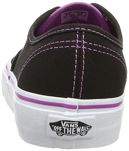 Vans Damen Authentic Low-Top Schwarz ((ClearEylts) Black FC6)