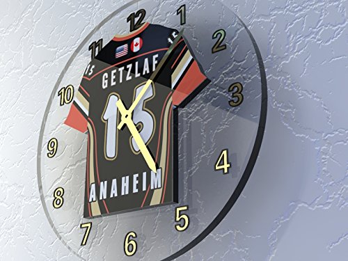 0cc1a94d326 NHL NATIONAL HOCKEY LEAGUE - WESTERN CONFERENCE - PACIFIC DIVISION JERSEY  WALL CLOCKS - ANY NAME, ANY NUMBER, ANY TEAM - FREE PERSONALISATION !!
