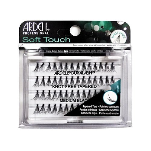 Ardell Professional - Soft Touch Knot-Free Tapered Individual Eyelashes - Medium Black