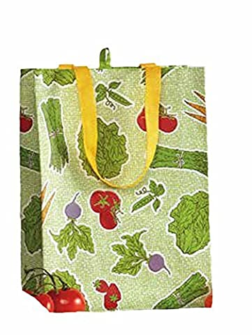 Farmer's Market Reusable Grocery Bags - Set of 3 by DII